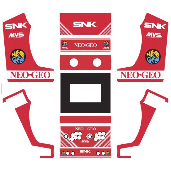 Vinyle Bartop Fabulous Arcade Classic NeoGeo