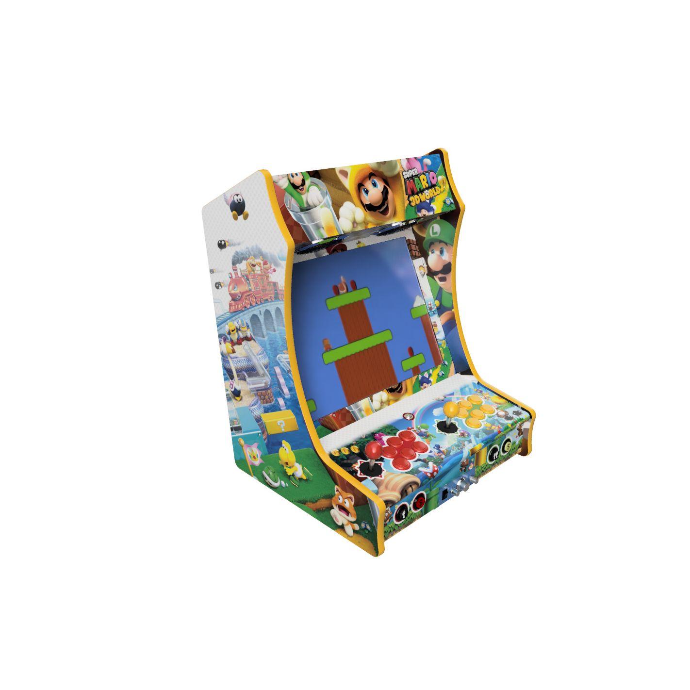 Vinyle Bartop Fabulous Arcade Classic Mario