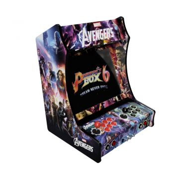 Vinyle Bartop Fabulous Arcade Classic Avengers