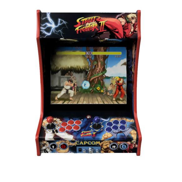 Vinyle Bartop Fabulous Arcade Classic Street Figther II B